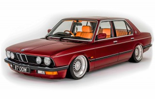 Restored and custom-modded 1987 BMW 525e E28