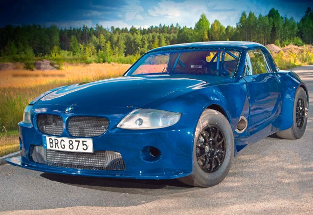 Drag machine 1400hp RB26-engined 4WD BMW Z4 E85