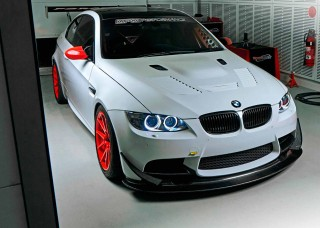 Supercharged 525whp BMW M3 E92