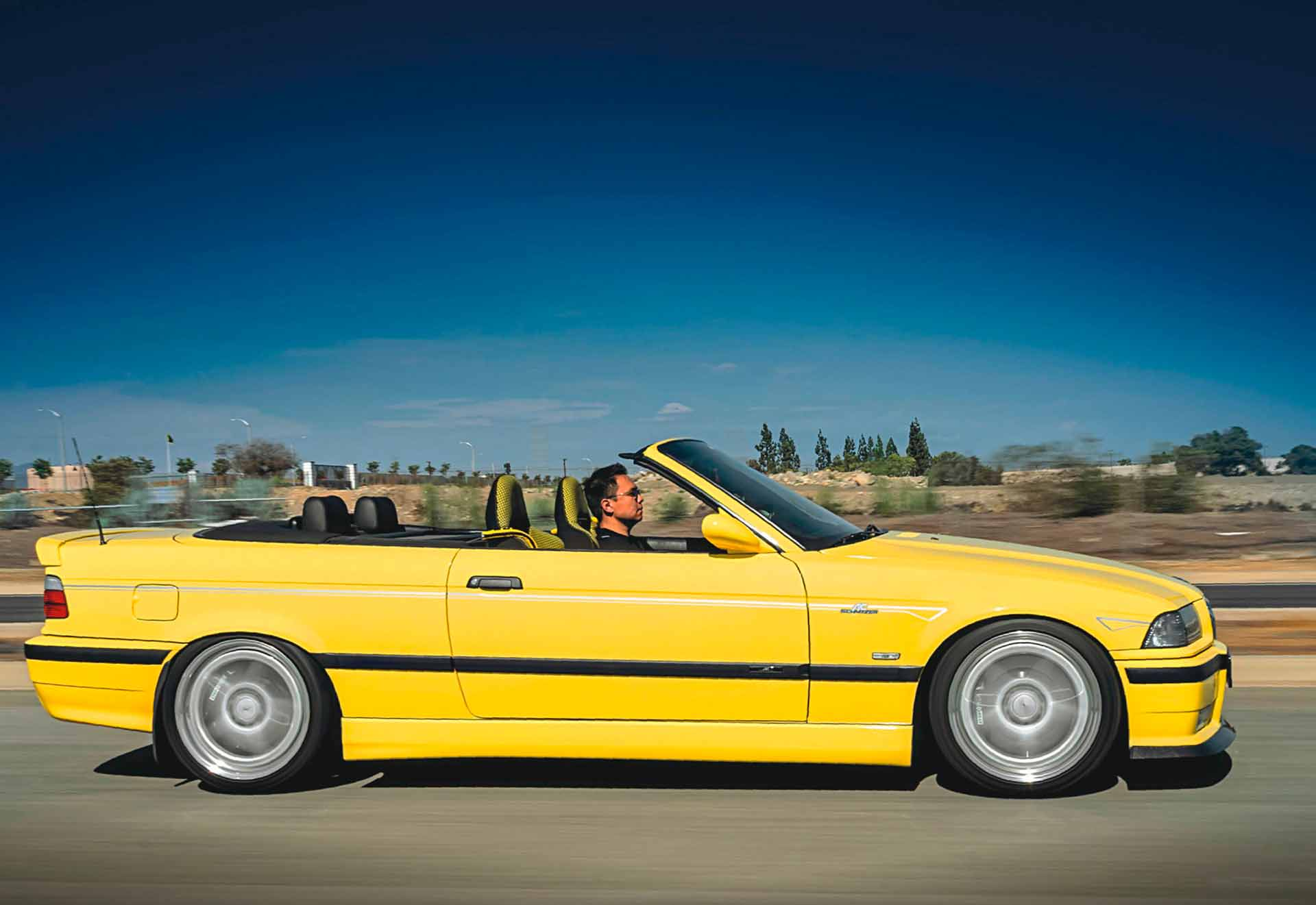 Supercharged 362whp BMW M3 Convertible E36/2CS + AC
