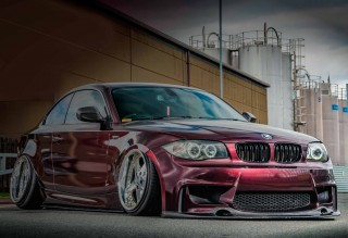 Air-ride BMW 120d E82