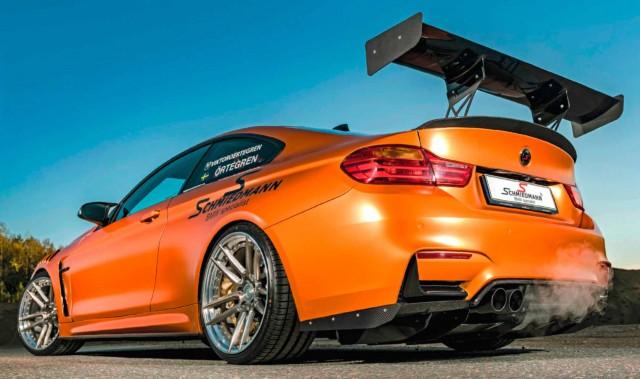 Schmiedmann Stage 2 tuned 700bhp BMW M4 F82