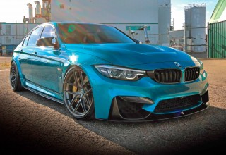 Styled and tuned 500bhp BMW M3 F80