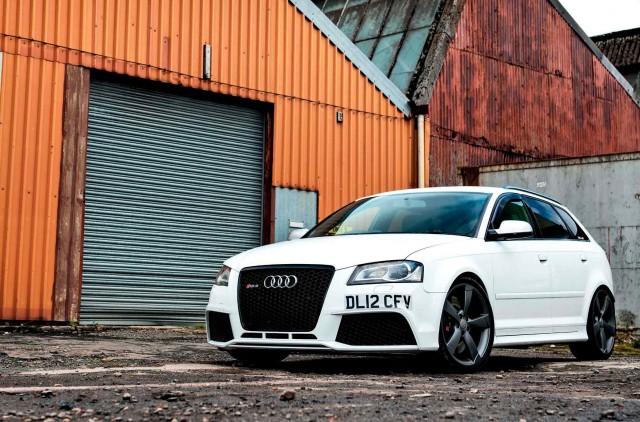 Tuned 520bhp Audi RS3 8P