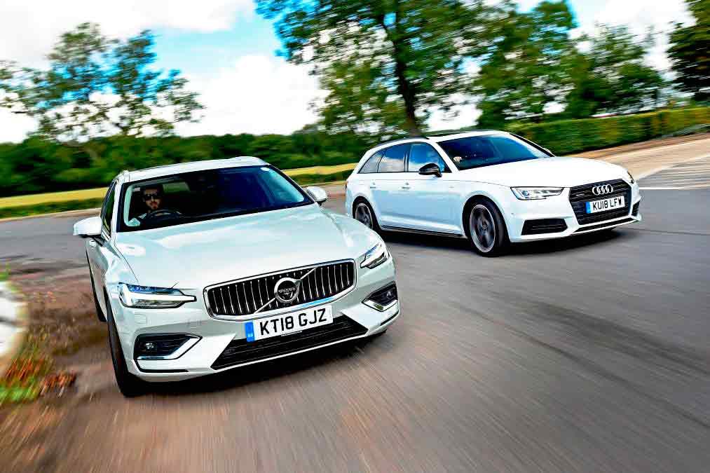 Volvo V60 vs Audi A4 B9 - Drive-My Blogs - Drive