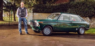 Me and my car - Paul Howse BMW 2002 Touring
