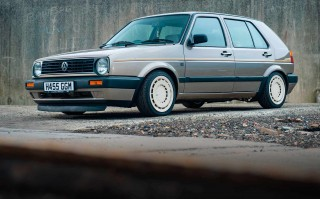 Tuned R32-powered 256bhp VW Golf II