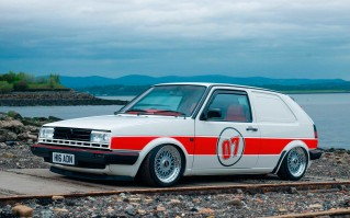 Tuned 3.2-litre engined 255bhp Volkswagen Golf Commercial Mk2