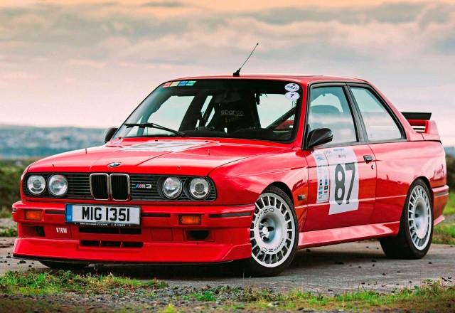 250bhp plus Сlub-Sport-spec BMW M3 E30