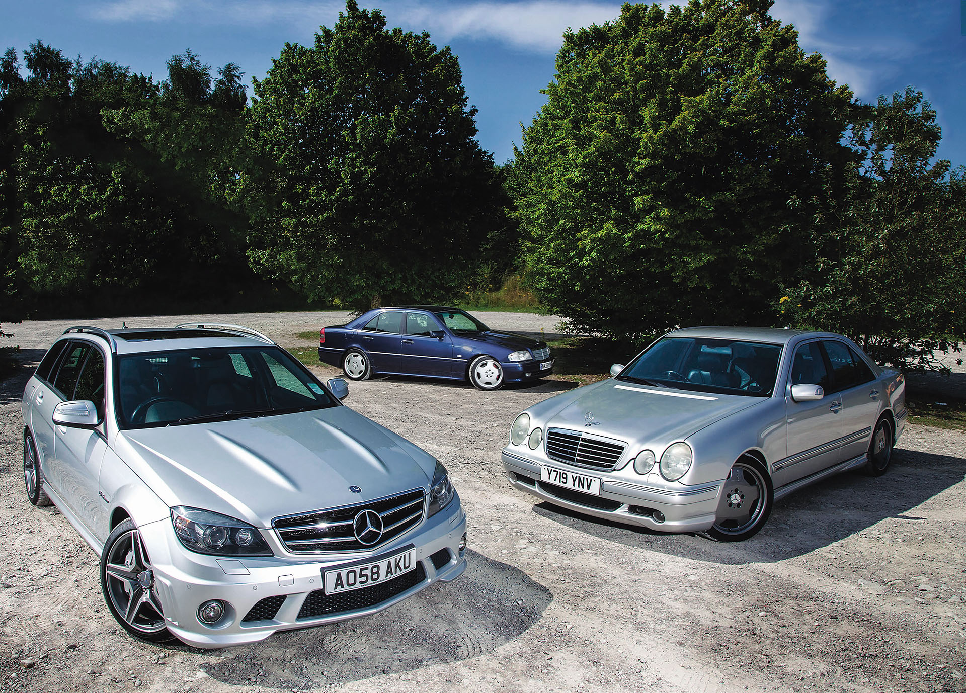 Ownership Mercedes-Benz C36 AMG W202, E55 AMG W210 and C63