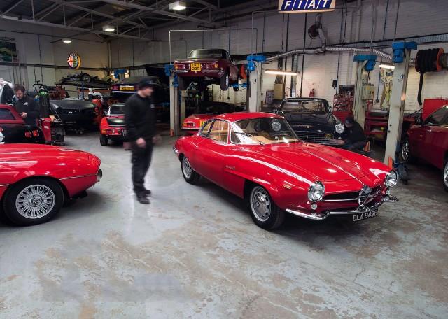 1964 Alfa Romeo Giulia SS epic restoration
