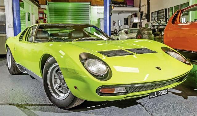 Epic Restoration 1971 Lamborghini Miura SV