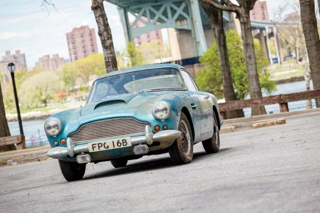 Aston-Martin DB4 potential £250,000 bill for a rebuild