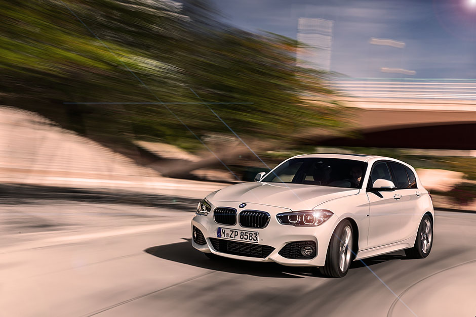 New face for the BMW 1Series F20 2015  Drive