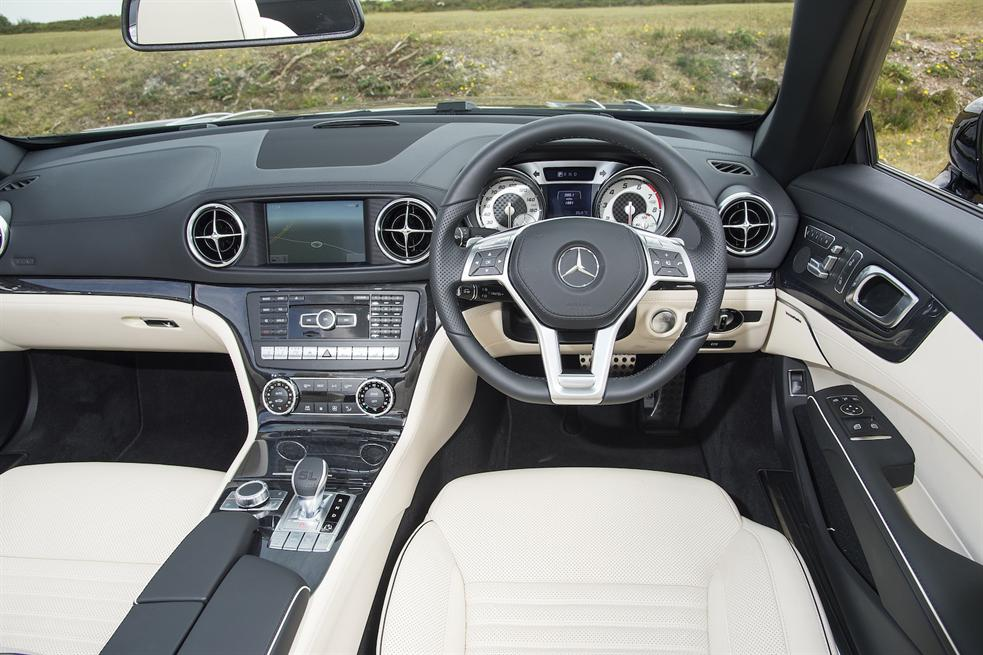 Mercedes Benz Sl400 R231 2015 Drive