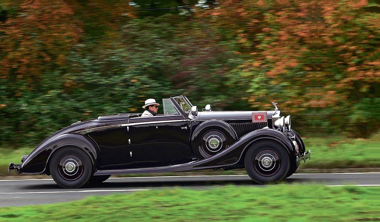 rolls royce phantom iii v12 vanvooren cabriolet driven drive. Black Bedroom Furniture Sets. Home Design Ideas