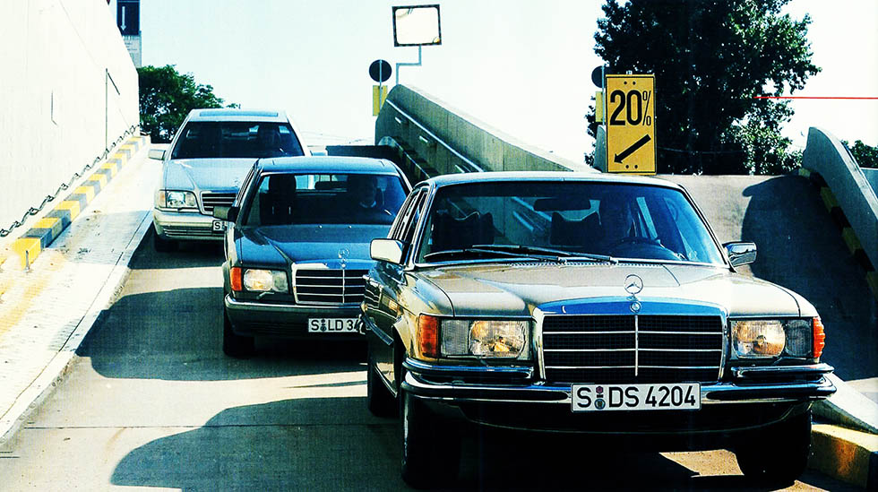 Battle Of The Classic Mercedes Benz S Class W116 Vs