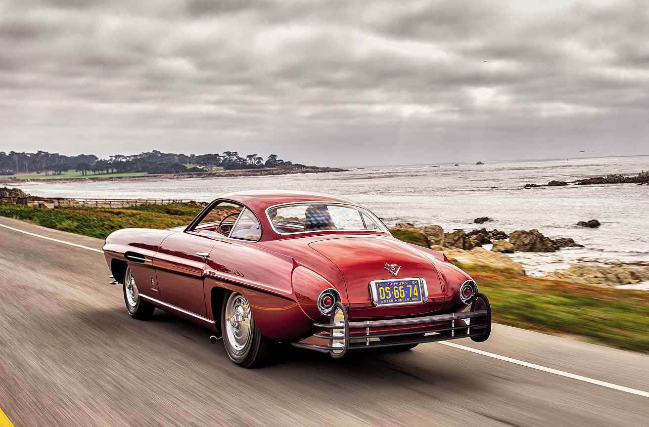 1953 Fiat 8V Ghia Supersonic road test