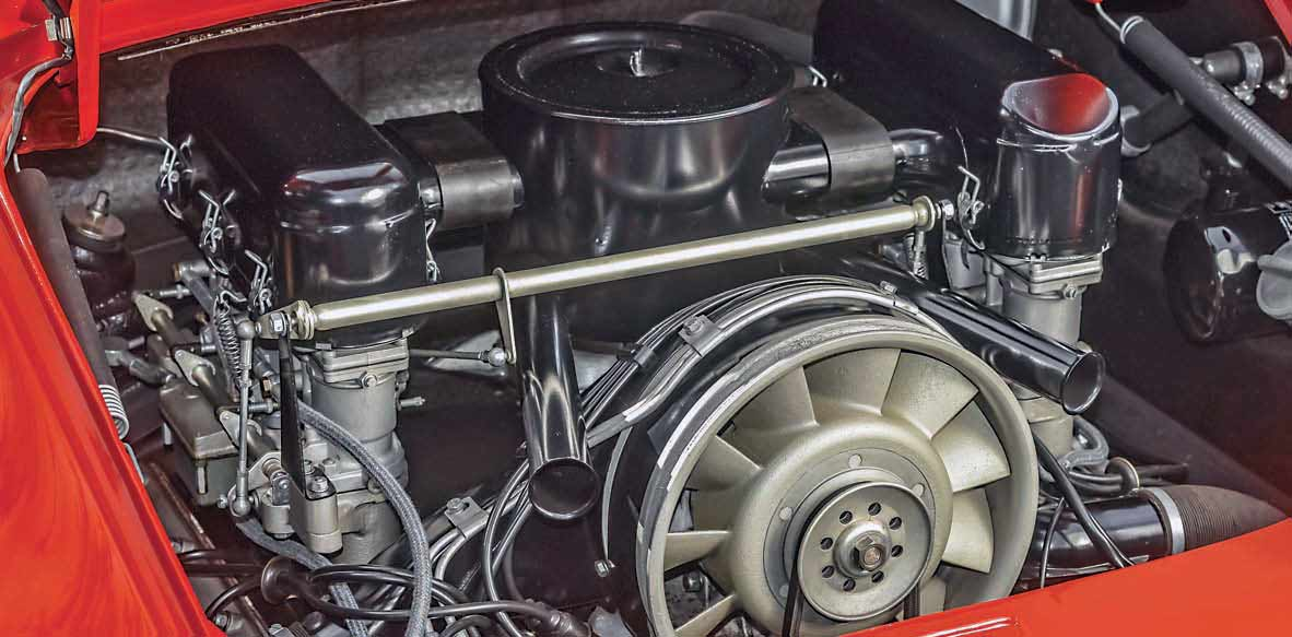 Porsche 901 prototype engine