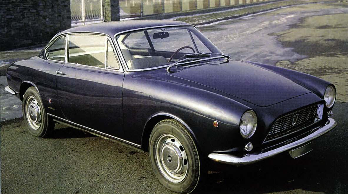 1964 Fiat 1500 4-seater coupe