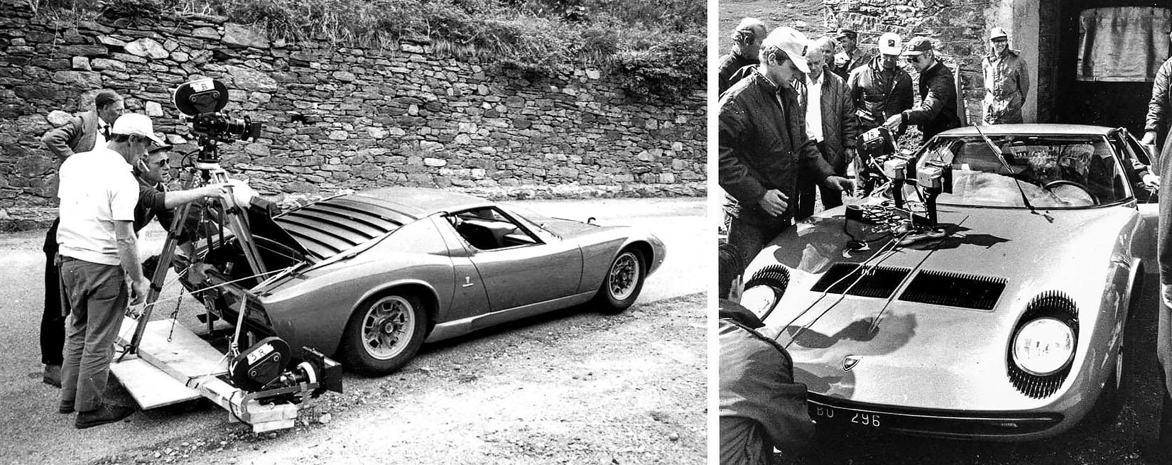 1968 Lamborghini Miura P400 The Italian Job Drive