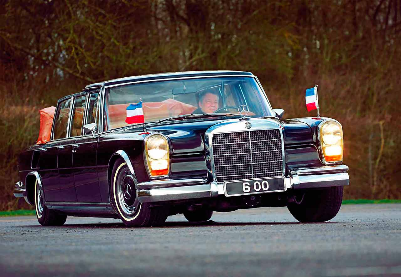 driving tito s presidential car 1970 six door mercedes benz 600 pullman landaulet drive. Black Bedroom Furniture Sets. Home Design Ideas