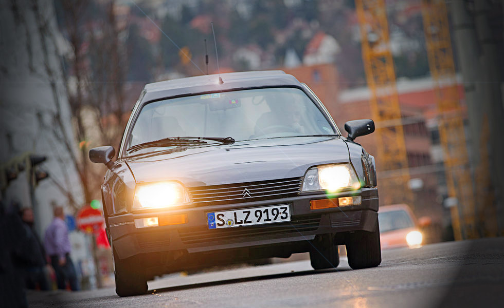 1986 Citroen CX 25Ri Familiale Automatic Series-2 - road test