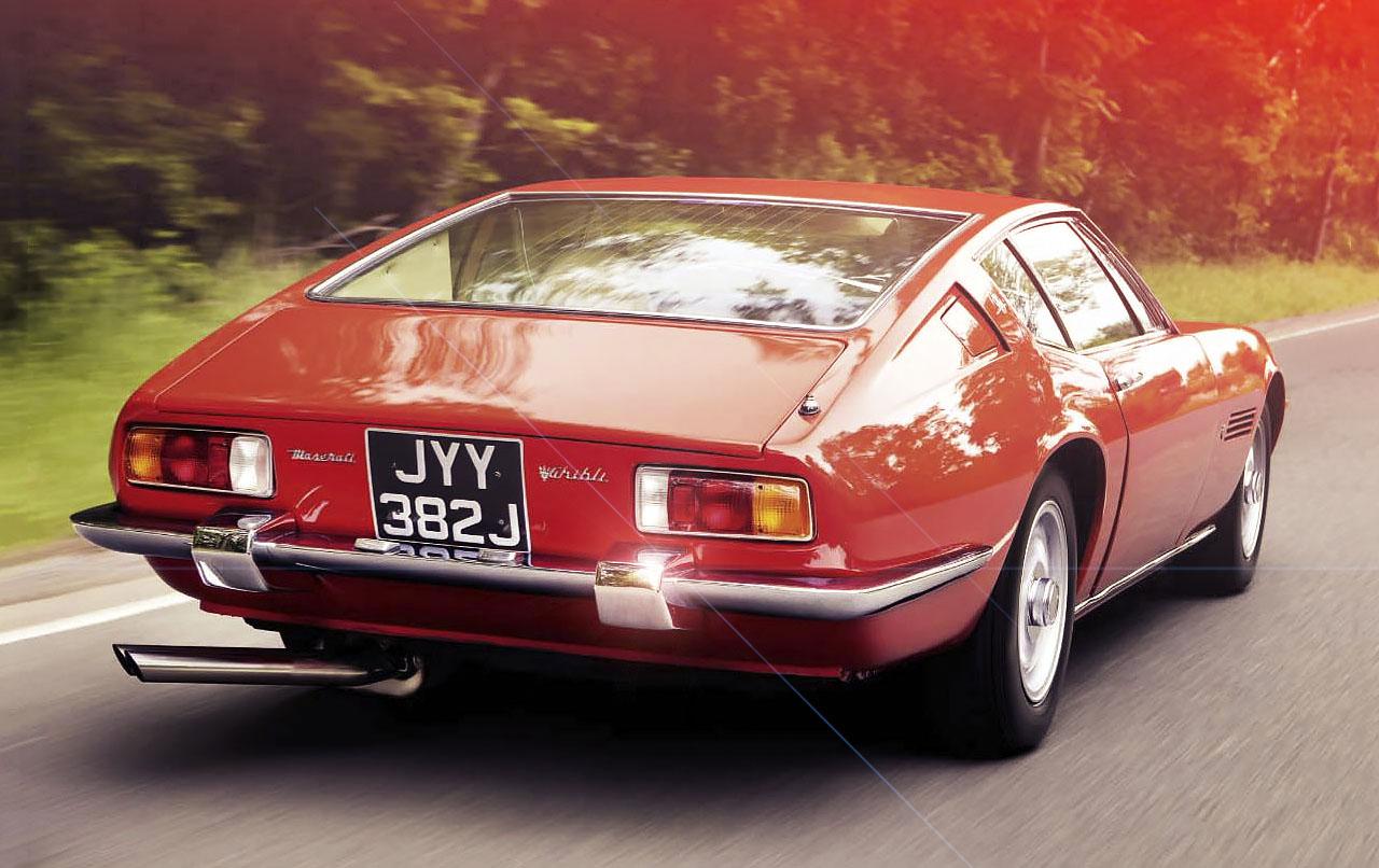 1970 maserati ghibli ss road test - drive