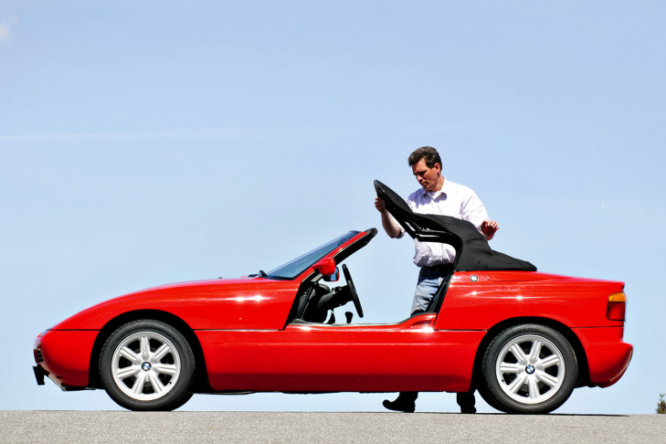1988 Bmw Z1 Road Test Drive
