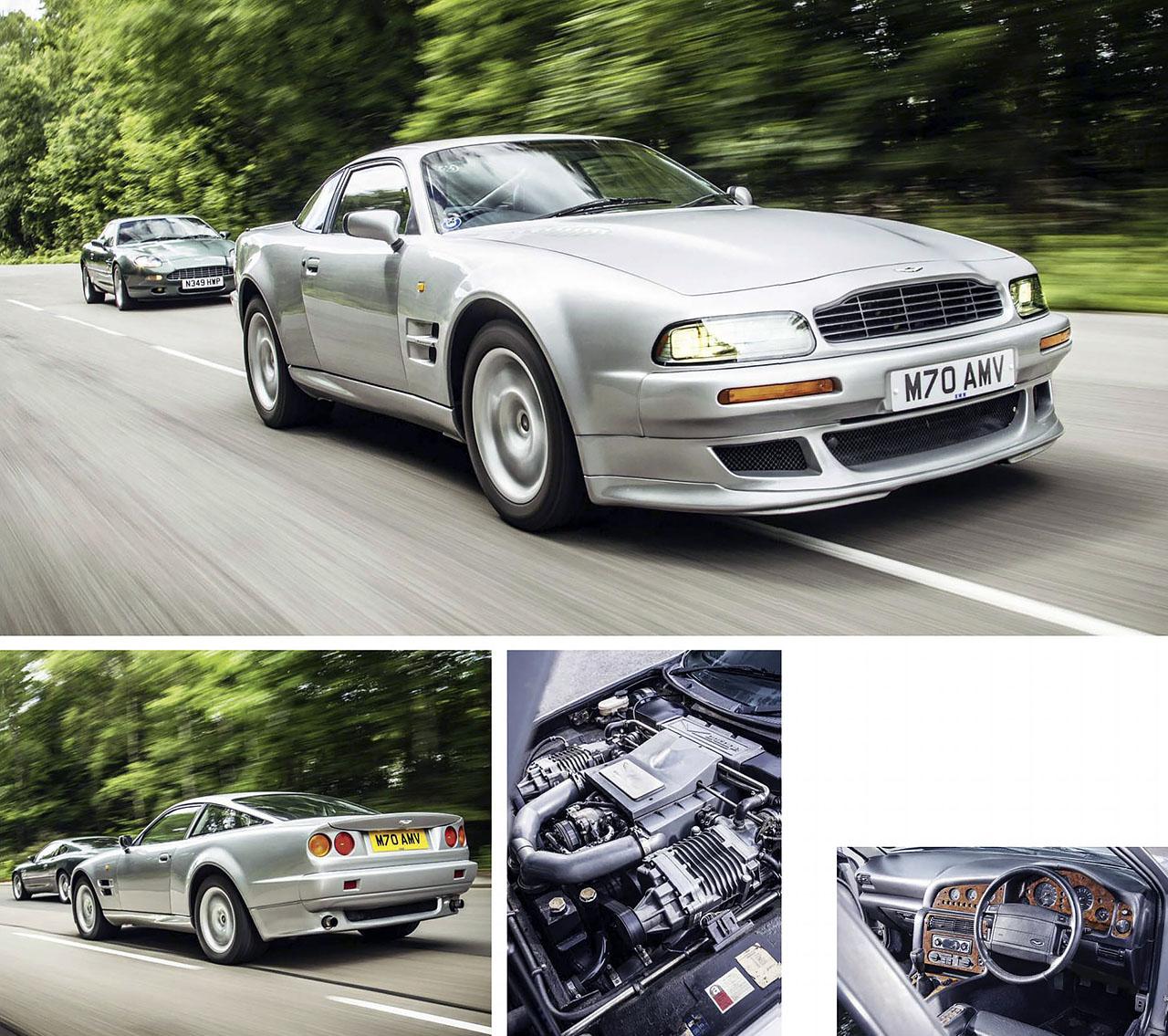 DB7, V8 Vantage, DB9, Vanquish And V8