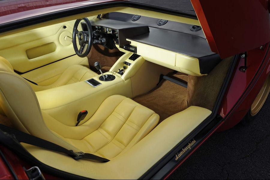 1984 lamborghini countach lp500s driven drive. Black Bedroom Furniture Sets. Home Design Ideas