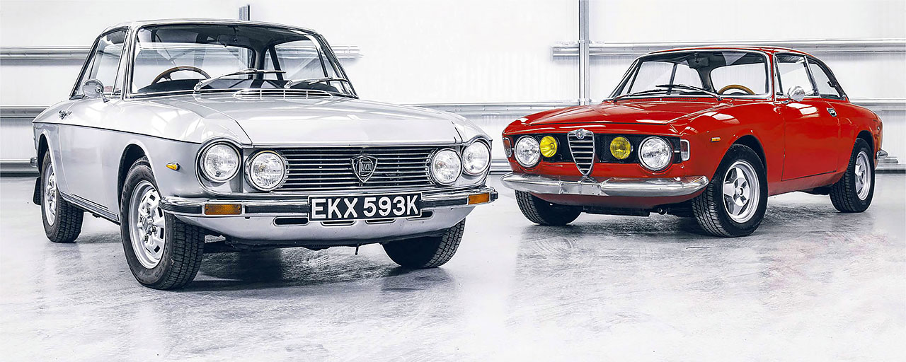 Lancia Fulvia Coupe 1 3s Vs Alfa Romeo Gt 1300 Junior Drive