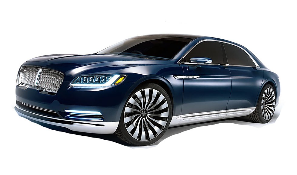 2015 lincoln continental concept drive. Black Bedroom Furniture Sets. Home Design Ideas