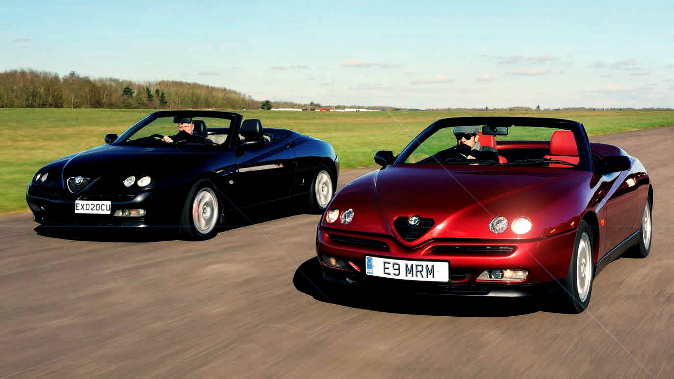 alfa romeo gtv spider 916 series giant group road test. Black Bedroom Furniture Sets. Home Design Ideas