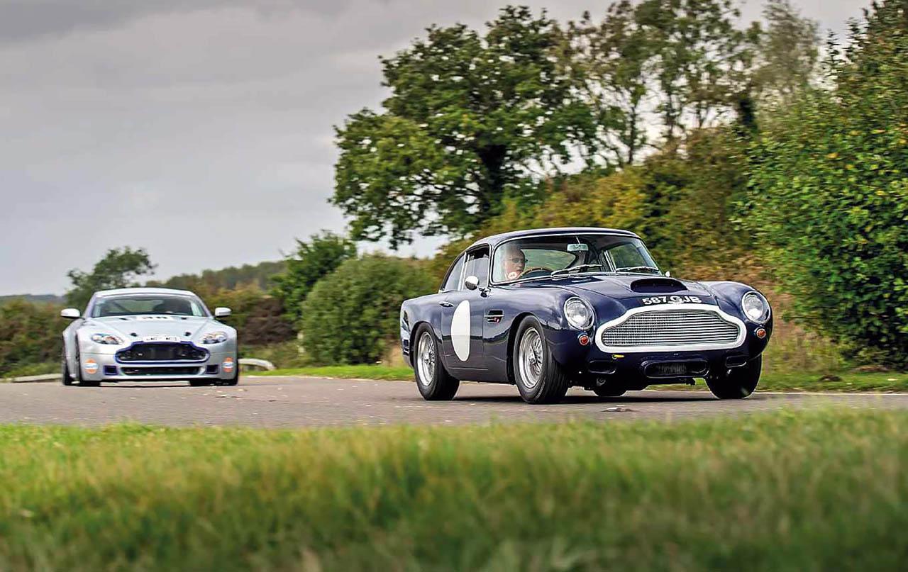 All Types aston db4 zagato : Twin test 1960 Aston Martin DB4 GT and 2016 Aston Martin V8 ...
