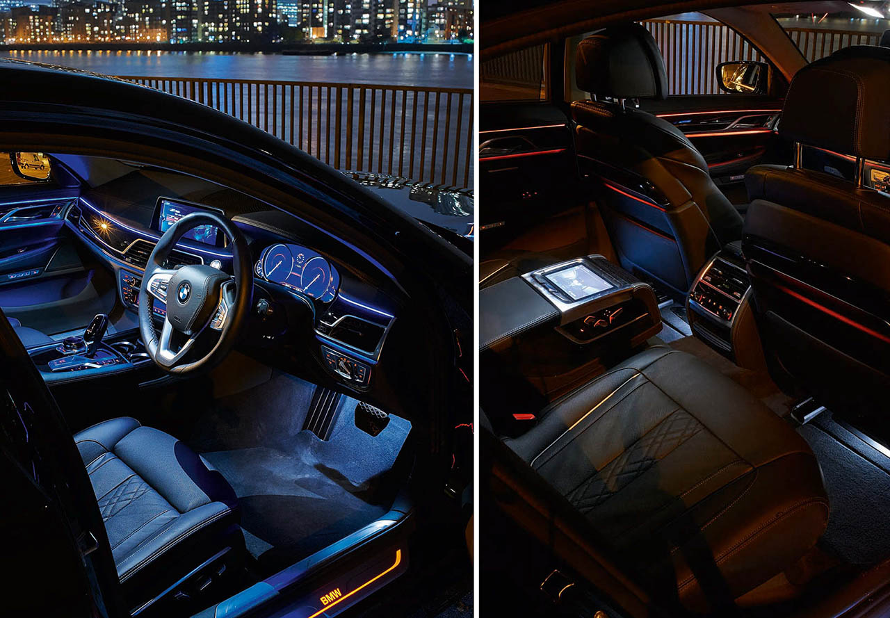 2016 BMW 730d G11 INTERIOR