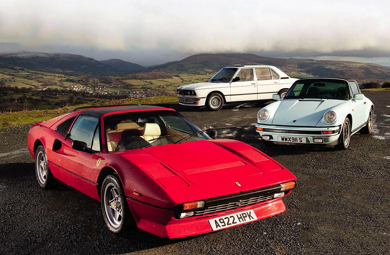 BMW M1 For Sale >> Lotus Esprit Turbo, Ferrari 308GTSi QV, De Lorean DMC-12 ...