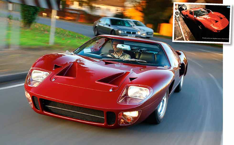 1966 ford gt40 mk1 roadcar road test