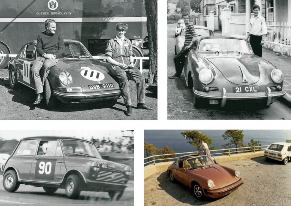 Life In Cars Nick Faure's lifelong passion for Porsche explains his 356 and various 911s