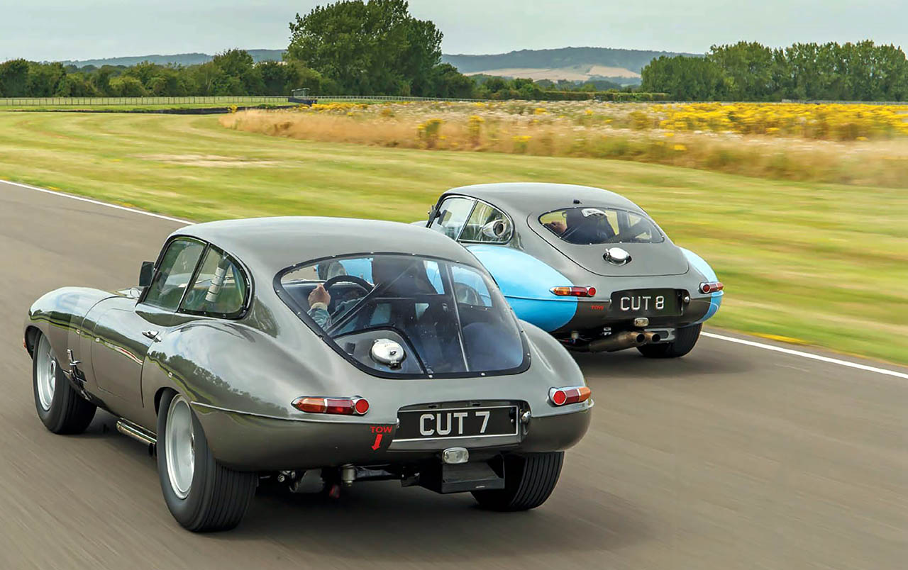 Protheroe S Jaguar E Types Cut 7 And 8