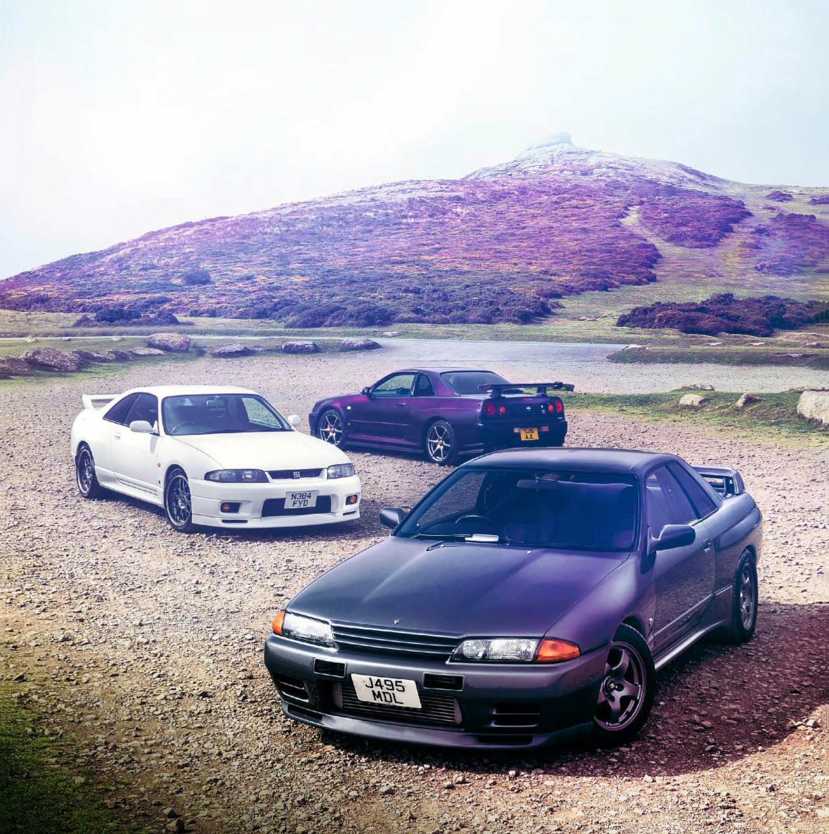 Nissan Skyline Gt R Showdown R32 R33 And R34 Drive