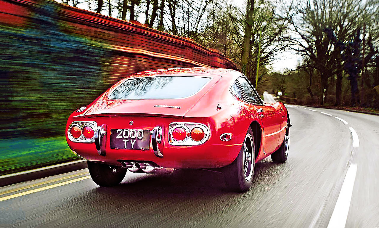 Toyota 2000GT first test-drive after a £150k rebuild