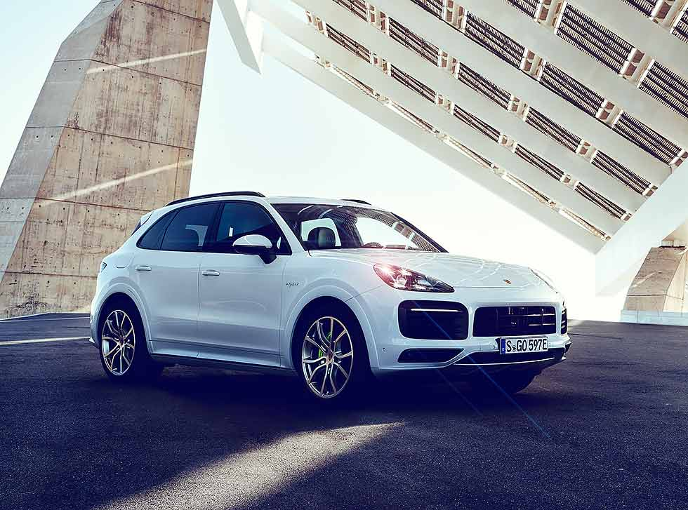 Porsche Cayenne E-Hybrid SportDesign Package Worldwide (PO536