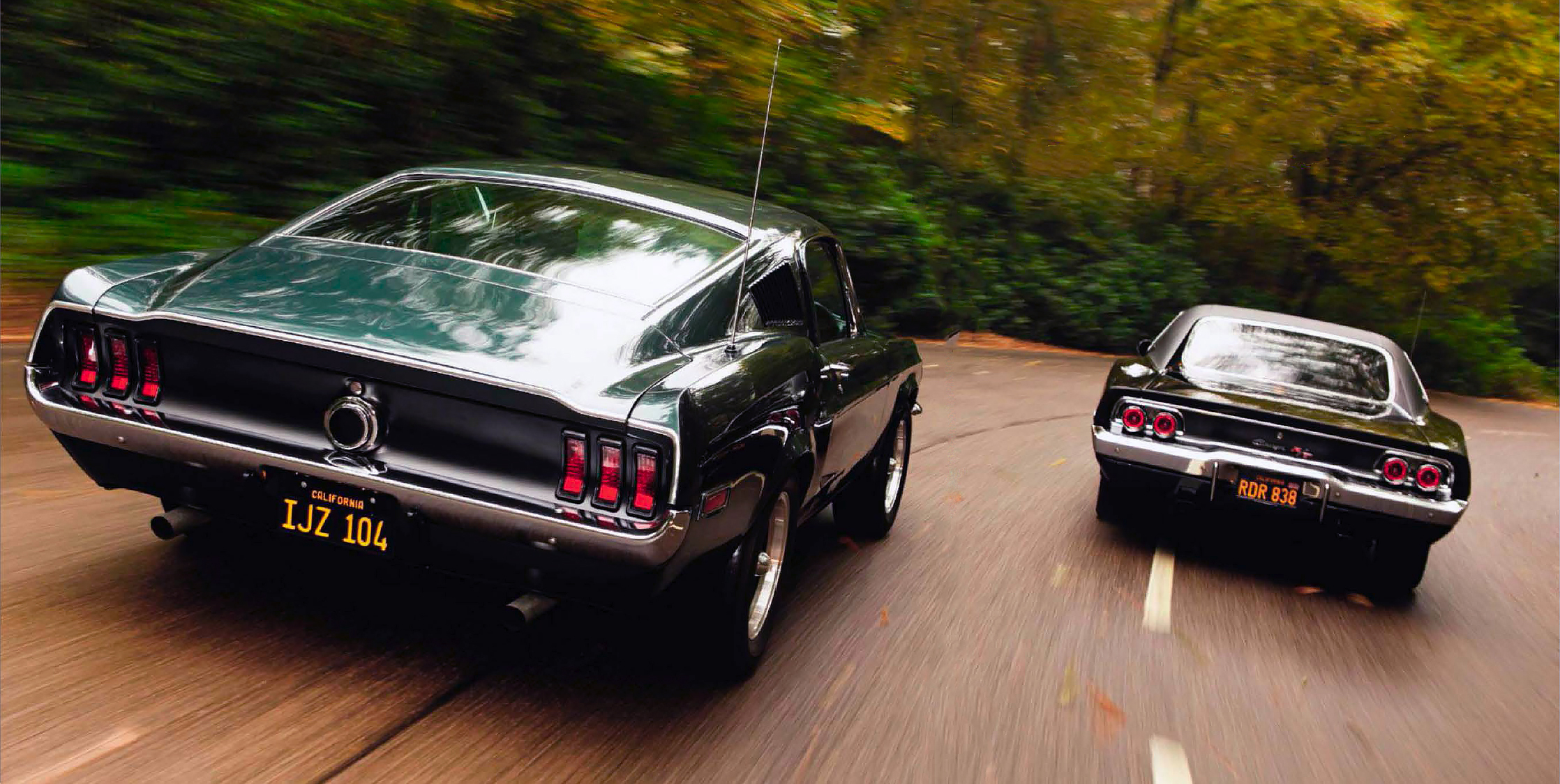 Bullitt And Steve Mcqueen S Ford Mustang 390 Gt Vs Dodge