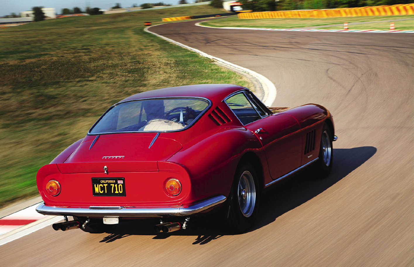 Steve McQueen's Ferrari dream drive of the King of Cool's sublime 275GTB/4 at Fiorano