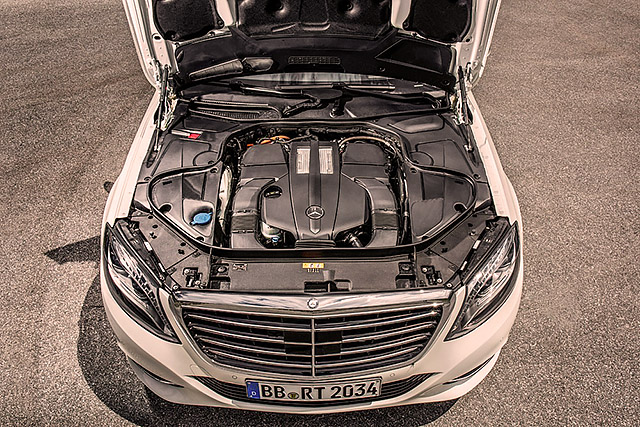 2015 Mercedes-Benz S500 Plug-in Hybrid L W222 - driven