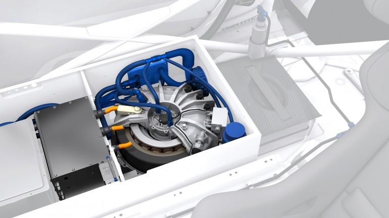 Porsche 911 GT3 R Hybrid 2.0 схема