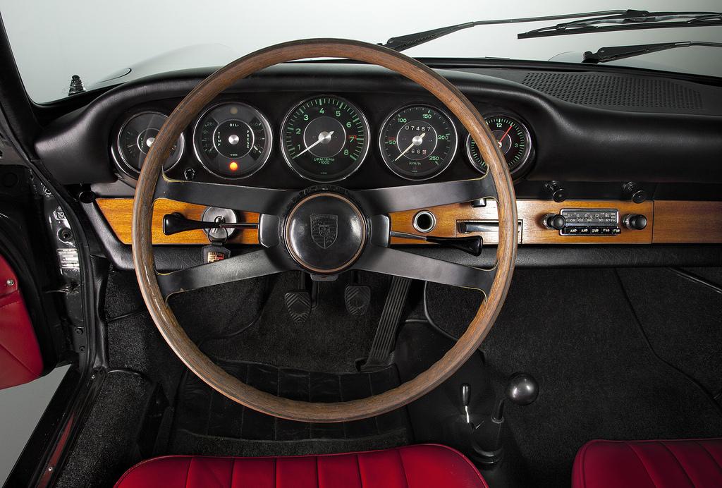 салон Porsche 911 1963