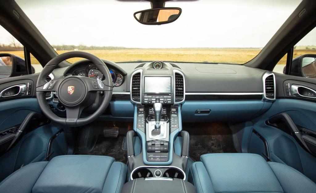 тест  Porsche Cayenne Diesel