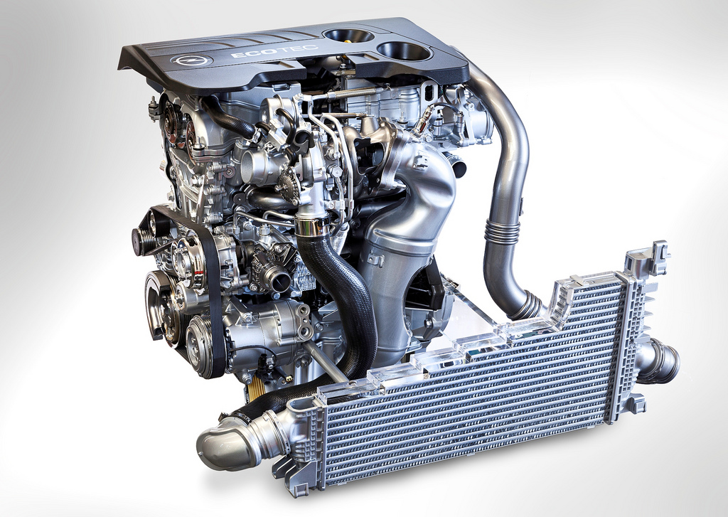 Двигатель opel SIDI
